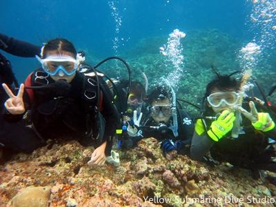818 体験ダイビング